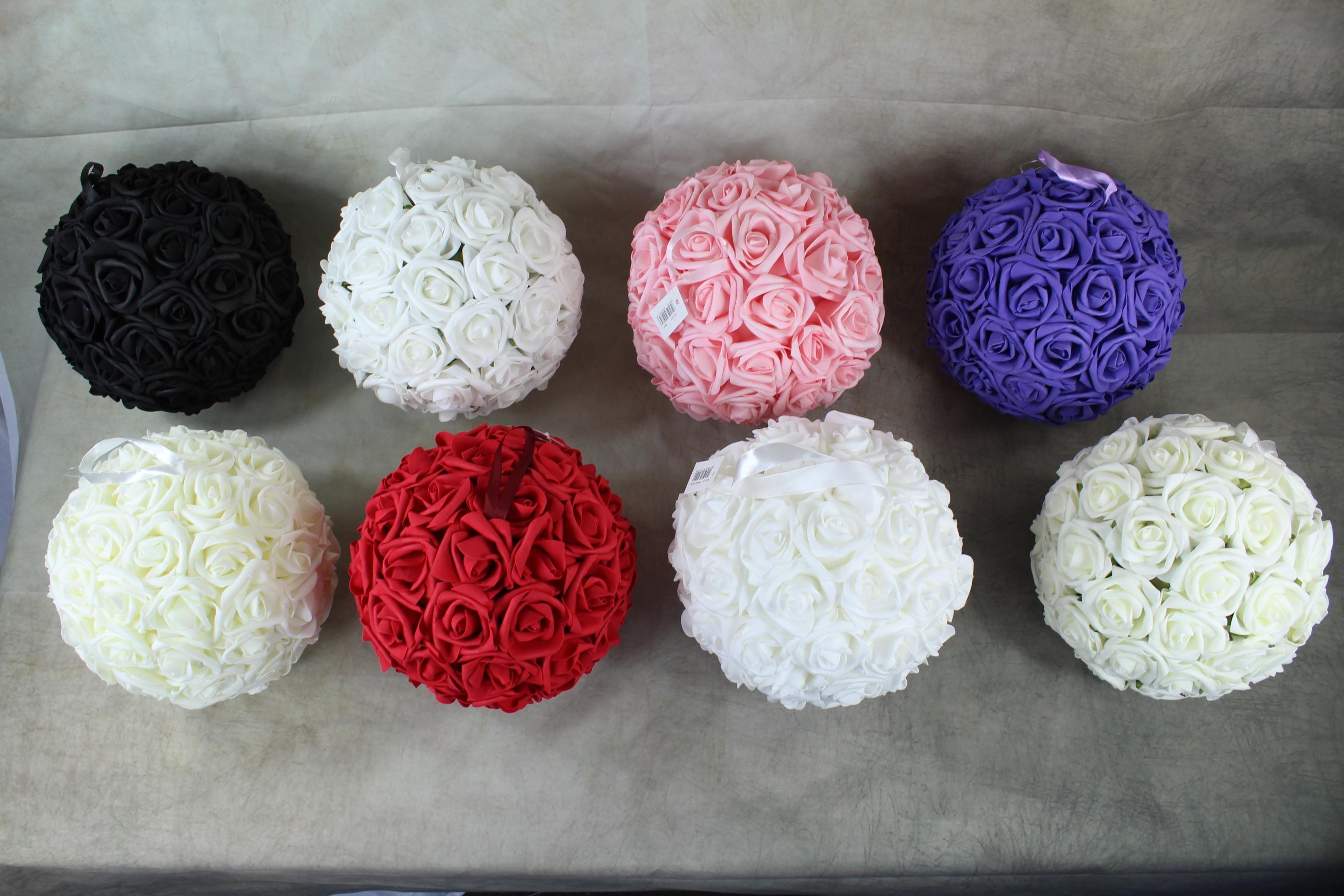 2 x 23cm Medium Pomander Balls