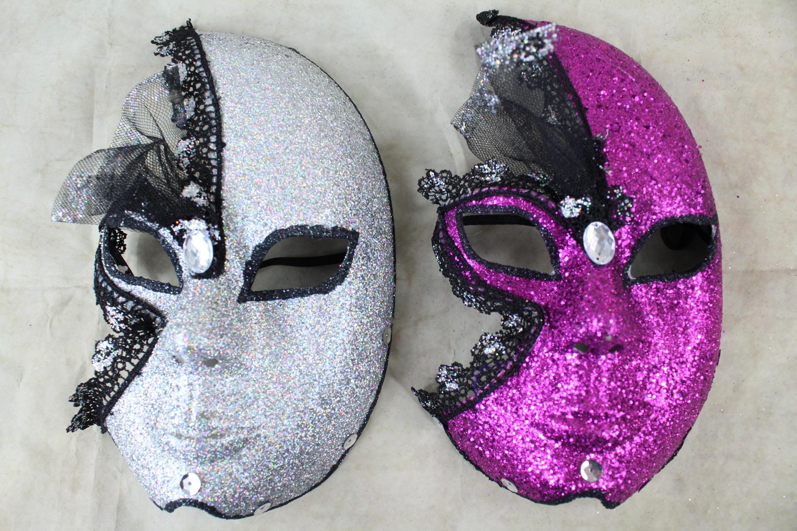 10 x Full Face Decoration Masks