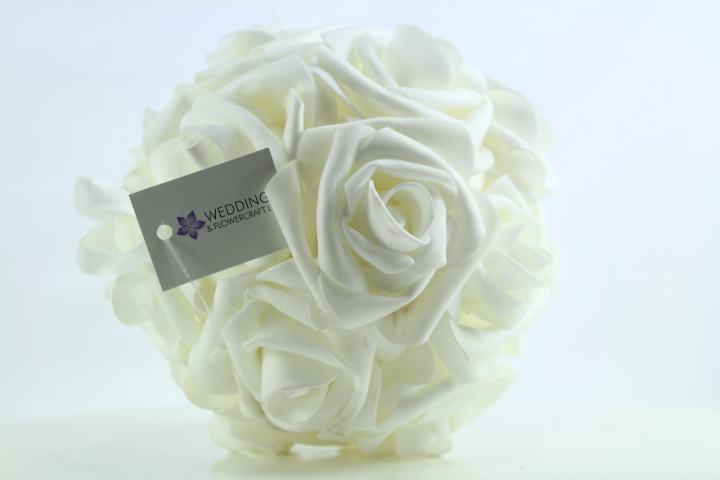 6 x 15.5cm Rose Pomander Balls