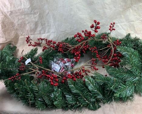 Christmas Berries And Garland Bundle