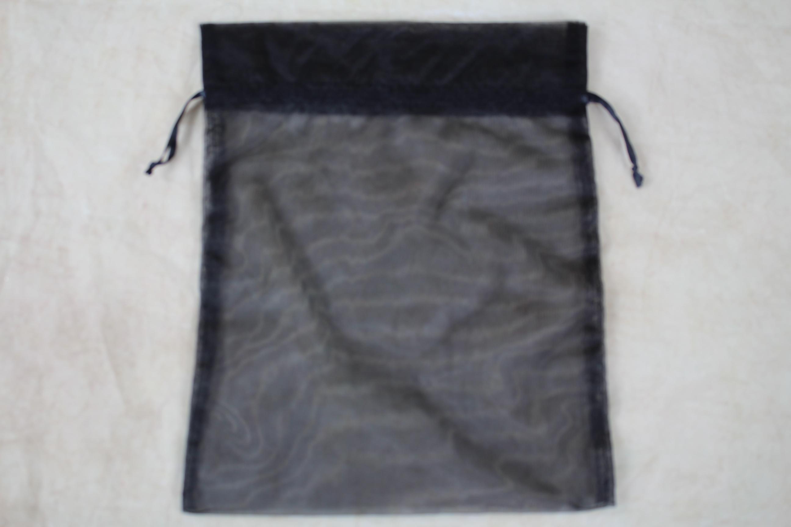 20 x extra large organza drawstring bag