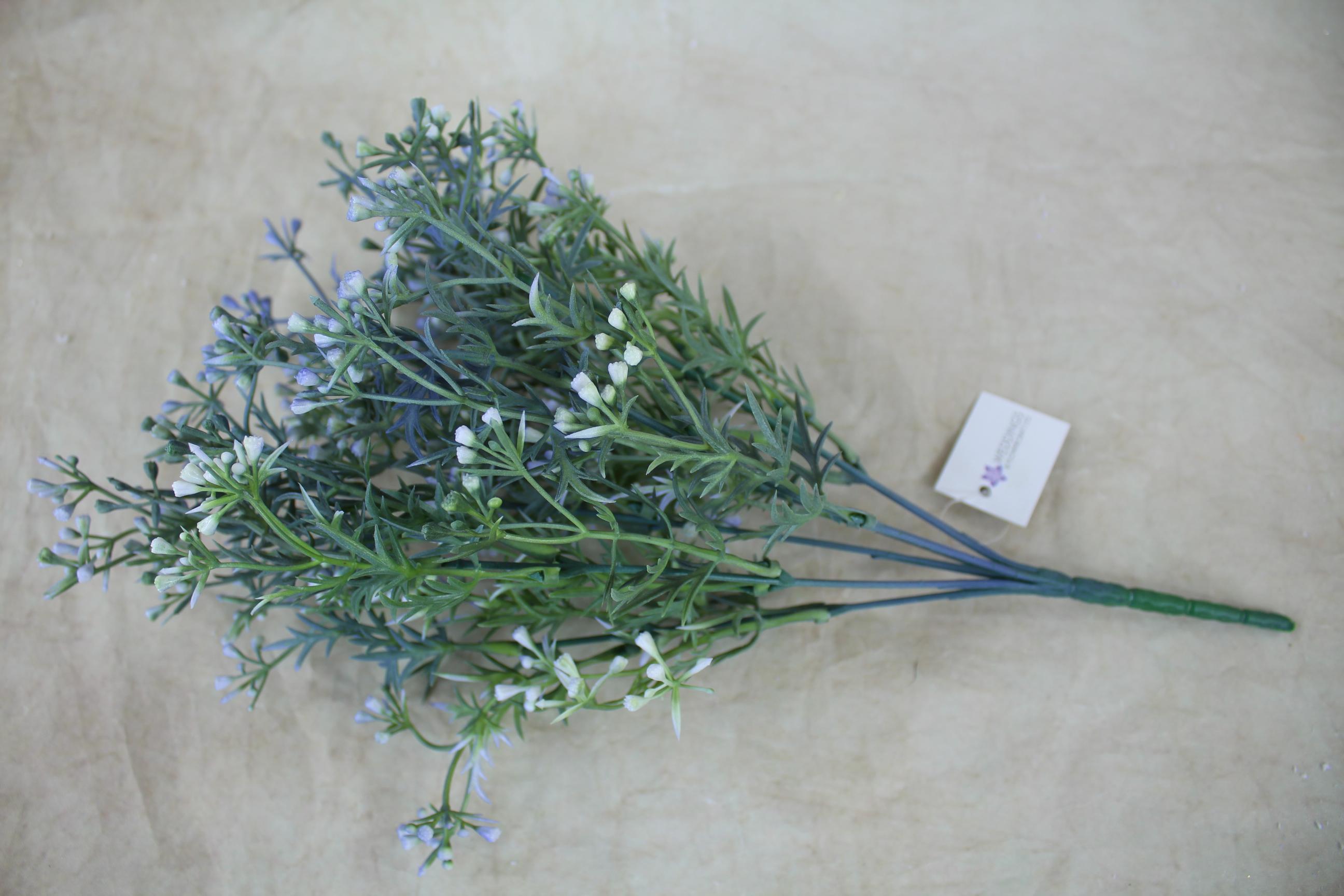 6 x Mini Wax Flower Bushes