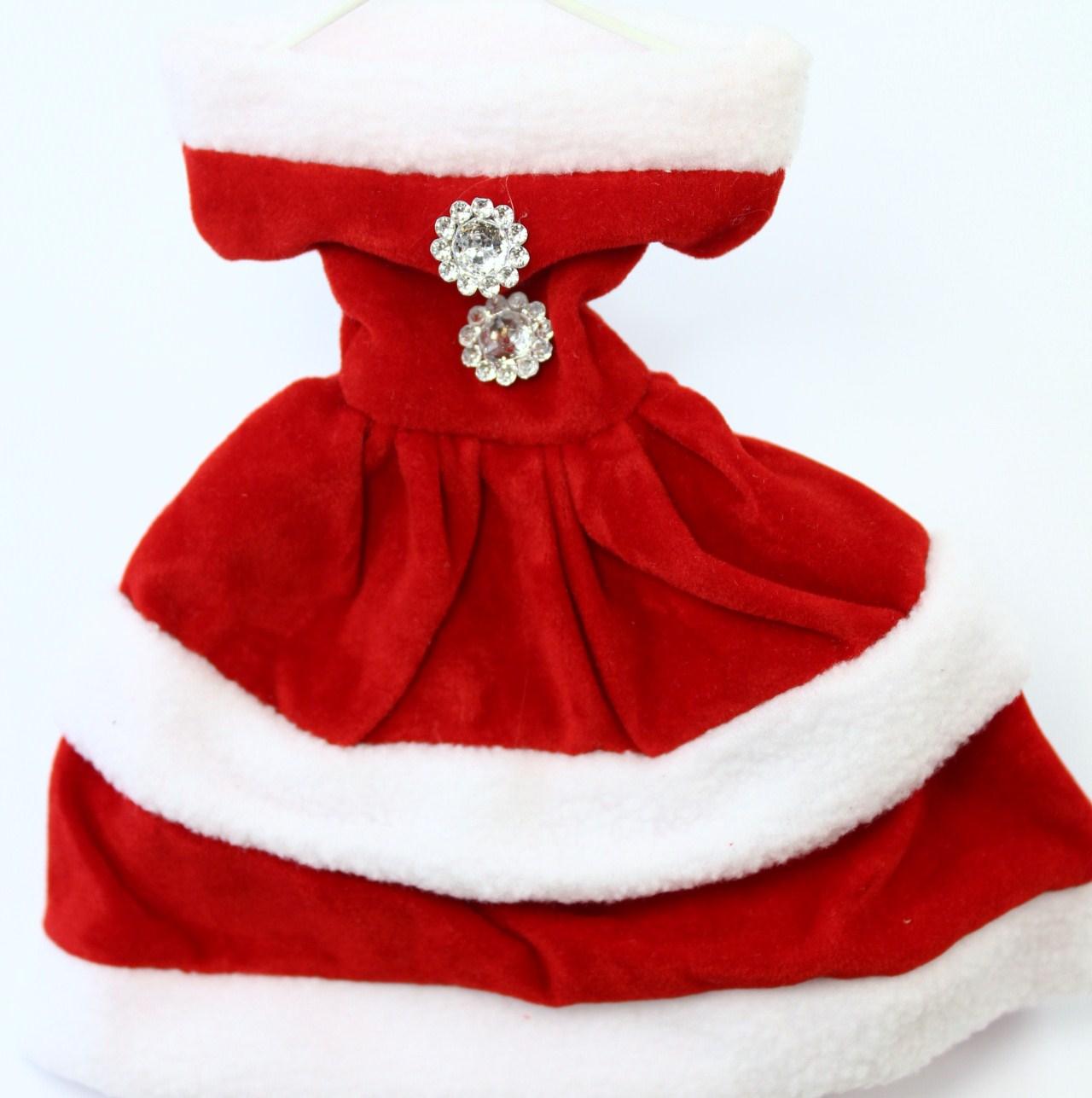 Christmas decoration Mrs Santa small gift bags