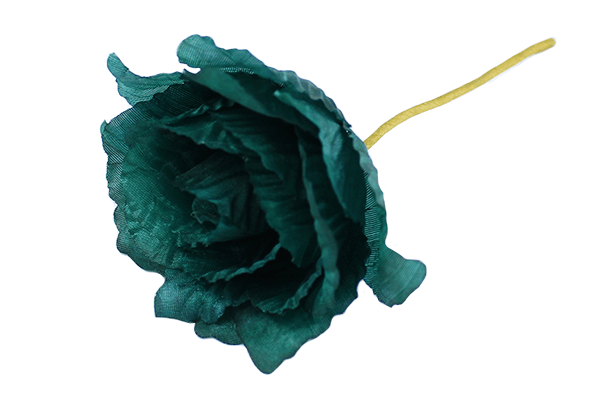 10cm Polyester Corsage Rose