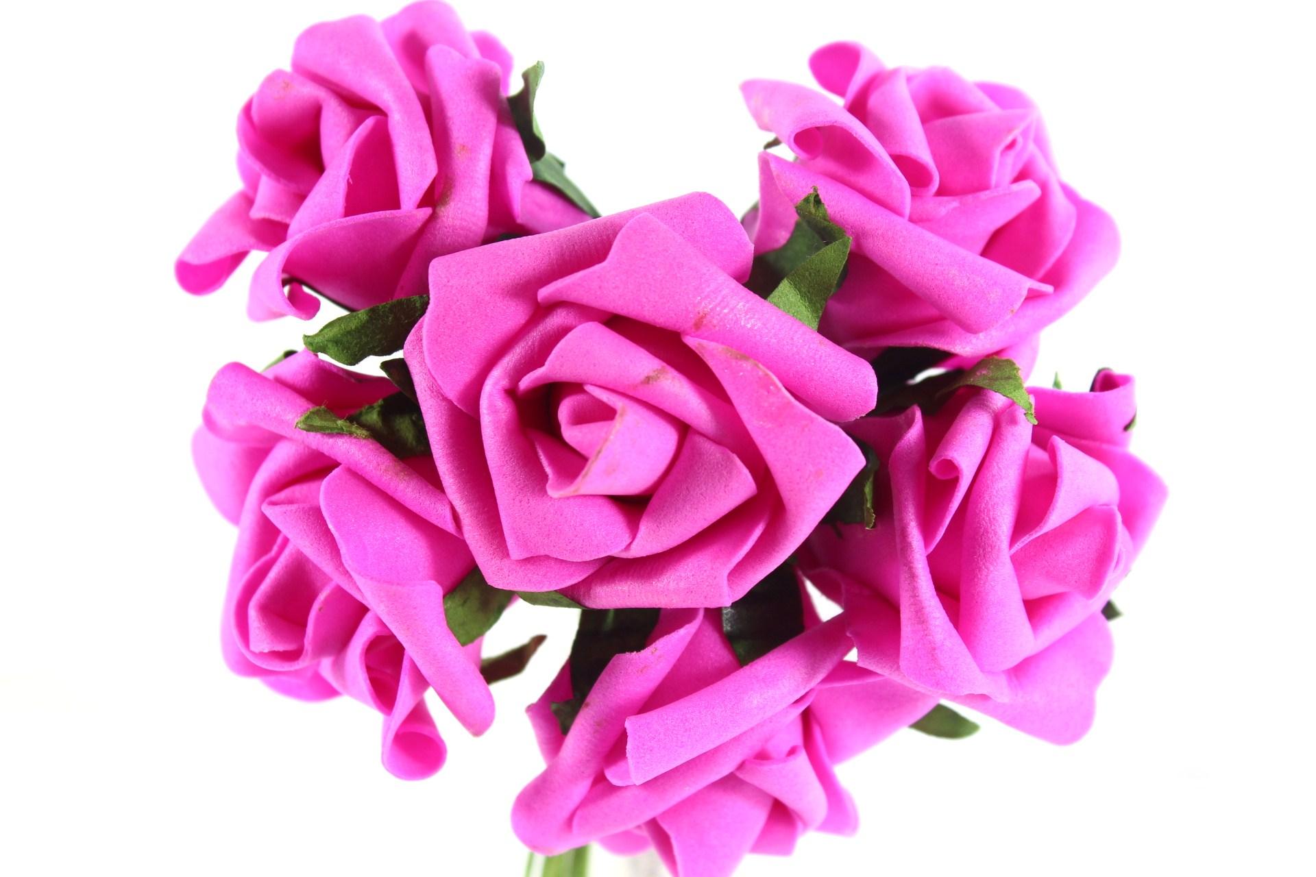 3.5cm Colourfast Mini Roses.