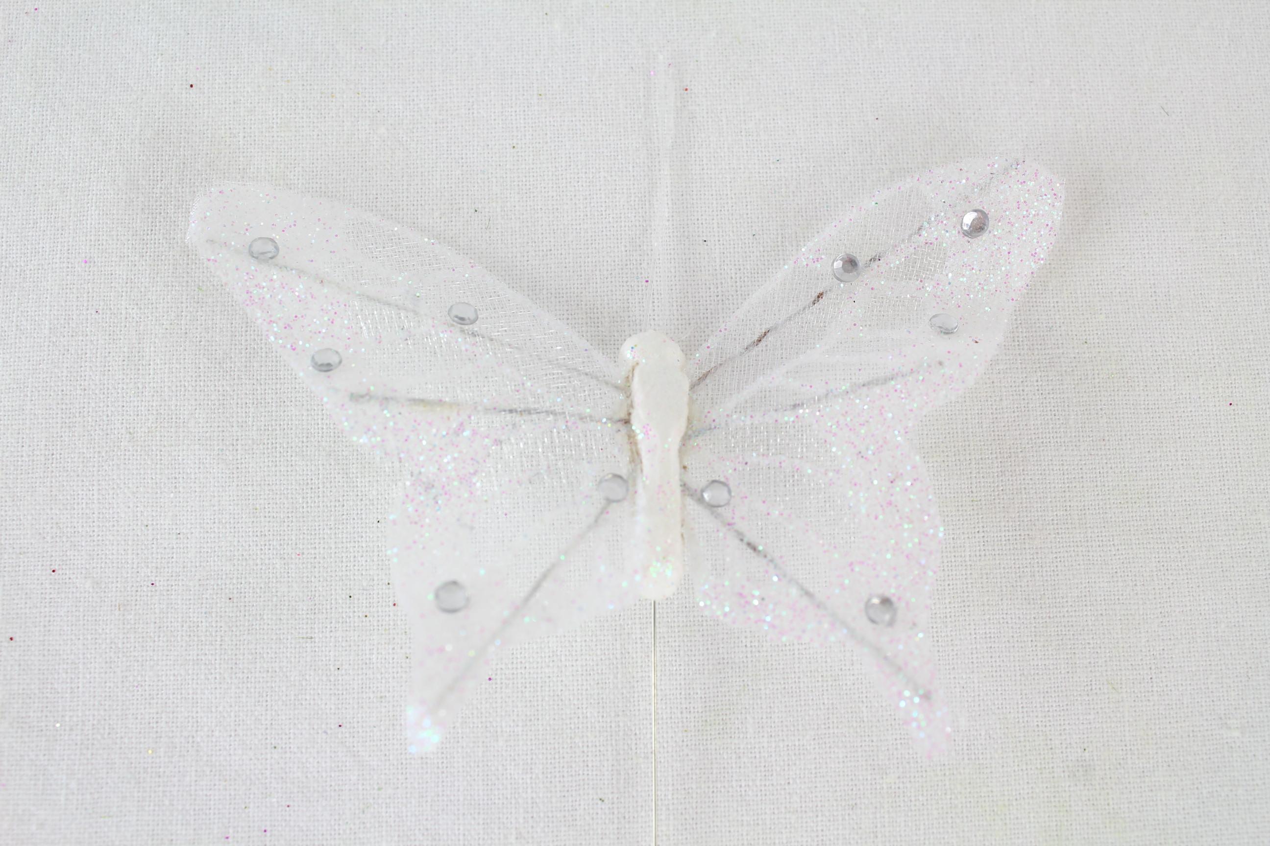 120 x 4cm Butterflies On Stems
