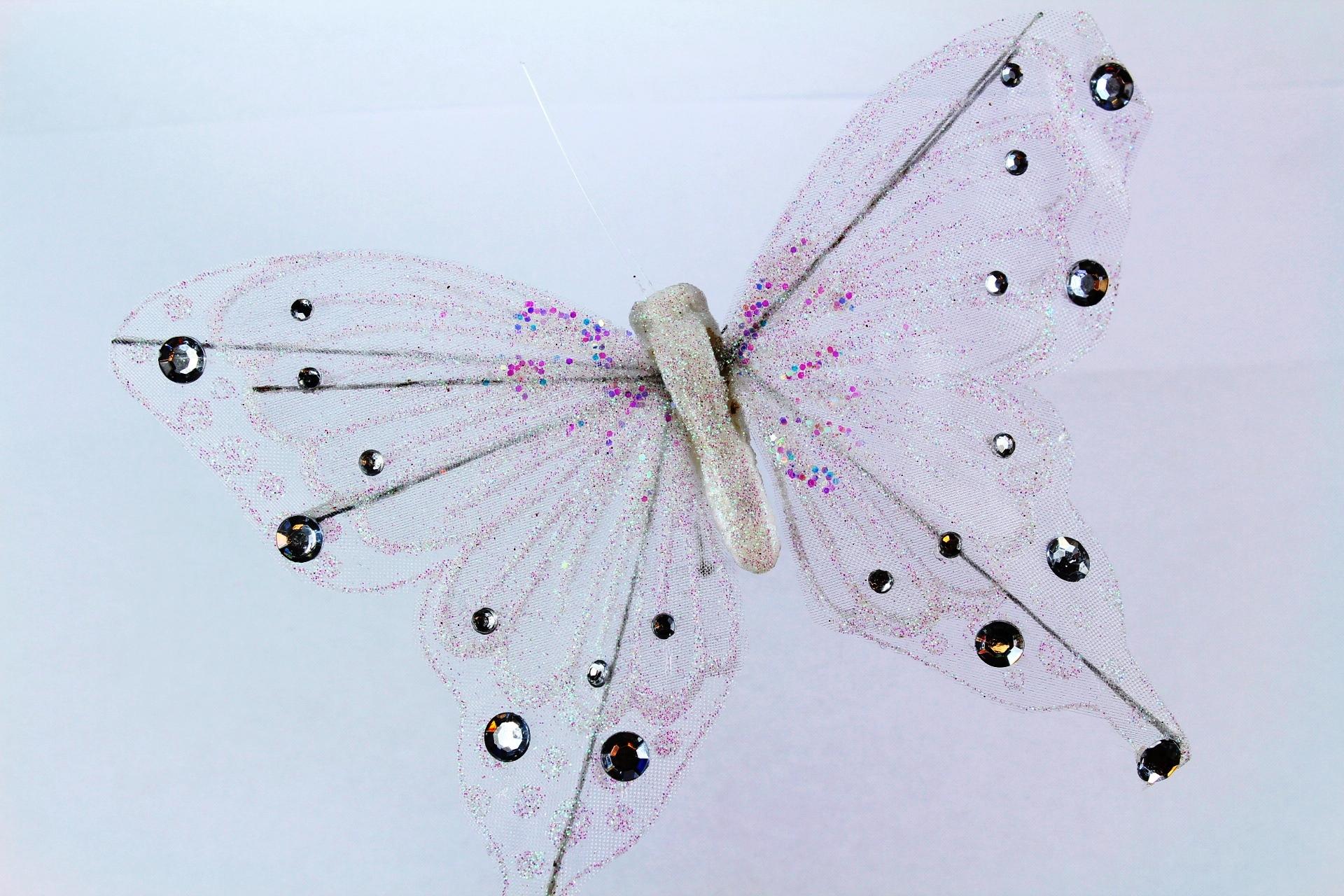 Butterfly 16cm, Pack of 3 butterflies.