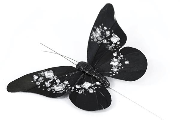 Jewelled Butterflies On Stems